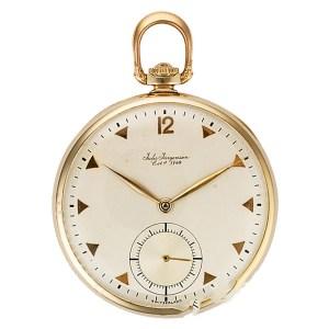 Jules Jurgensen pocket watch 14k 44mm Manual watch