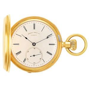 Philadelphia Watch Case Co. pocket watch 4000 18k White dial 44mm Manual watch
