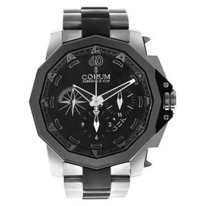 Corum Admirals Cup 277.931.06/0371/AN12 titanium & rubber 48mm auto watch