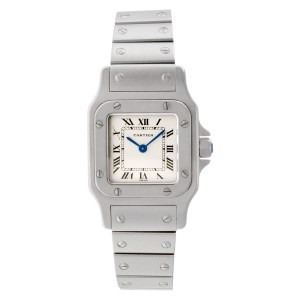 Cartier Santos W20056D6 stainless steel 23.5mm Quartz watch
