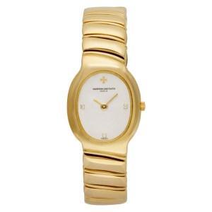 Vacheron Constantin Classic 603783 18k Ivory dial 19mm Quartz watch