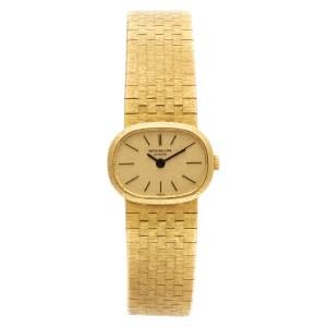 Patek Philippe Ellipse 3373/1 18k Gold dial mm Manual watch