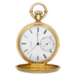 Jules Jurgensen pocket watch 12981 18k White dial 54.5mm Manual watch