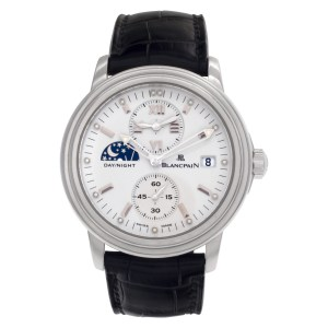 Blancpain Leman No1445 Stainless Steel White dial 36mm Automatic watch