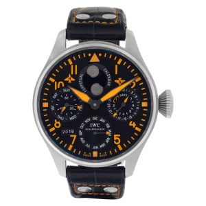 IWC Big Pilot IW502618 Stainless Steel Black dial 46mm Automatic watch
