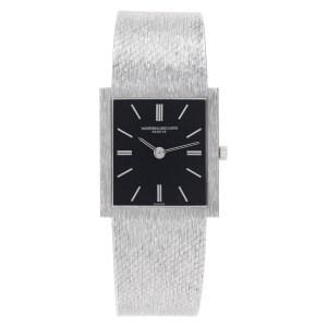 Vacheron Constantin Classic 7186 18k White Gold Black dial 23mm Manual watch