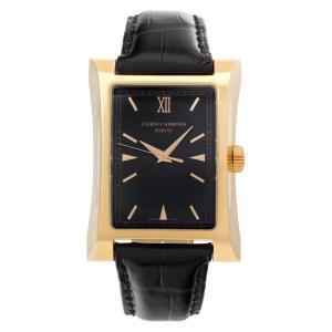 Cuervo Y Sobrinos Esplendidos 2412/1 18k rose gold Black dial 32mm Automatic wat