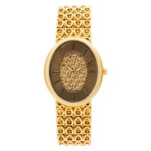 Patek Philippe Ellipse 3598 18k Gold dial 30mm Manual watch