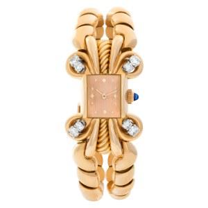 Patek Philippe Classic 8874 18k rose gold Pink dial 15.5mm Manual watch