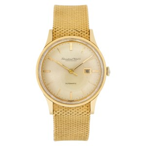 IWC Classic 709A 18k Gold dial 34mm Automatic watch