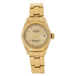 Rolex Datejust 6917 18k Yellow Gold Champagne dial 26mm Automatic watch