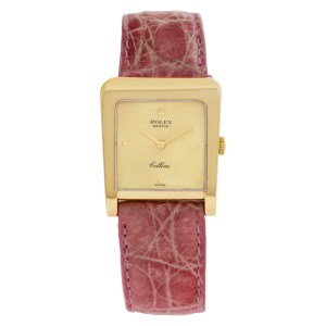 Rolex Cellini 4100 18k 25mm Manual watch