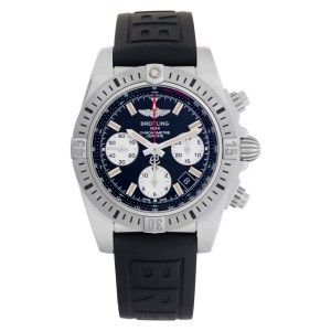Breitling Chronomat AB0144 Stainless Steel Black dial 40mm Automatic watch