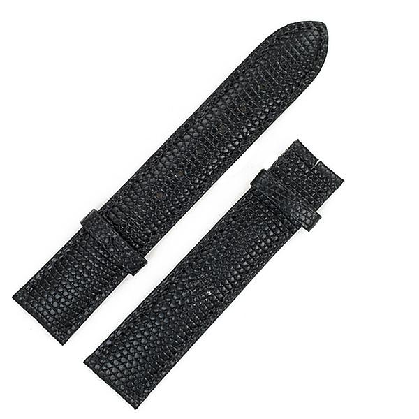 Cartier black lizard strap (18x16)