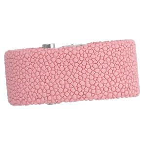 de GRISOGONO pink string ray strap for LIPSTICK model, 28mm