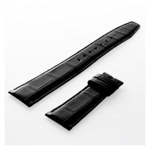 IWC black alligator strap (22 x 18)