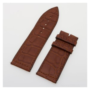 Franck Muller brown alligator strap (24 x 22)