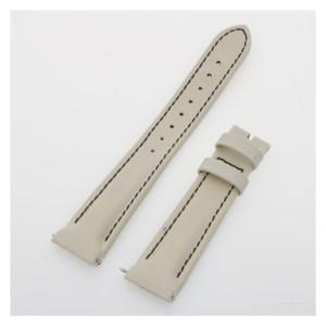 Franck Muller white calfskin leather strap (16x14)