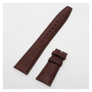 IWC matte brown alligator strap (22x18) IWA24764