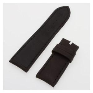 Gerald Genta black calfskin strap (22 x 20)