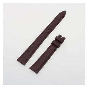 Franck Muller matte burgundy / bourdeaux crocodile strap (12x10)