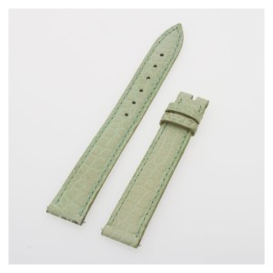 Franck Muller pastel green crocodile strap (14x12)