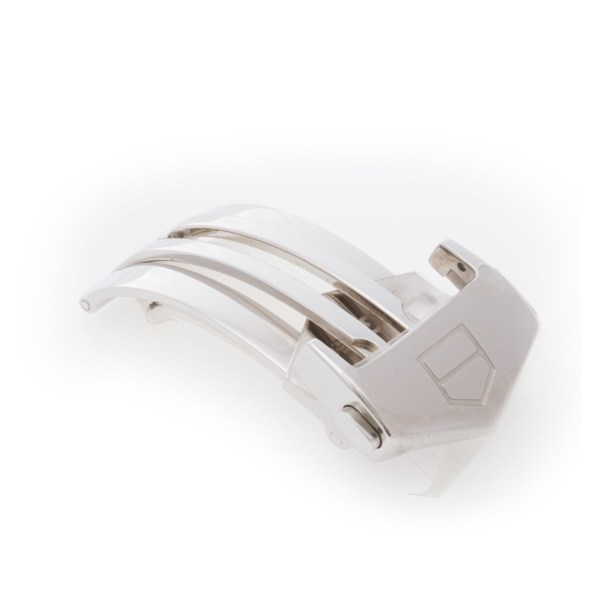Tag Heuer stainless steel deployant buckle. 18mm.