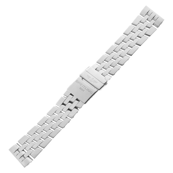 Breitling 22mm Pilot stainless steel bracelet