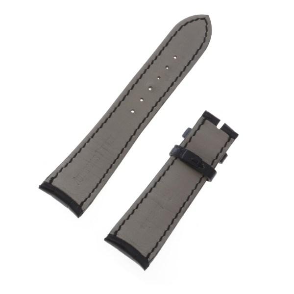 Audemars Piguet black alligator strap (22x18)