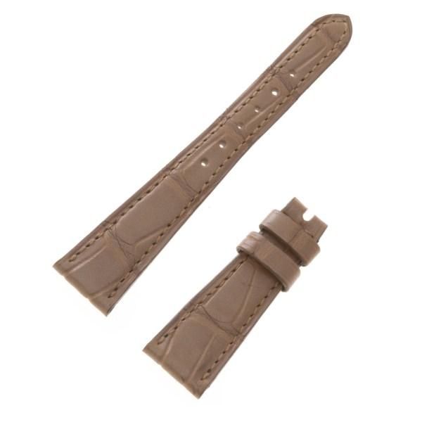 Ladies Patek Philippe beige alligator strap (16mm x 10mm)