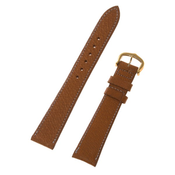 Cartier tan leather strap (17x14)