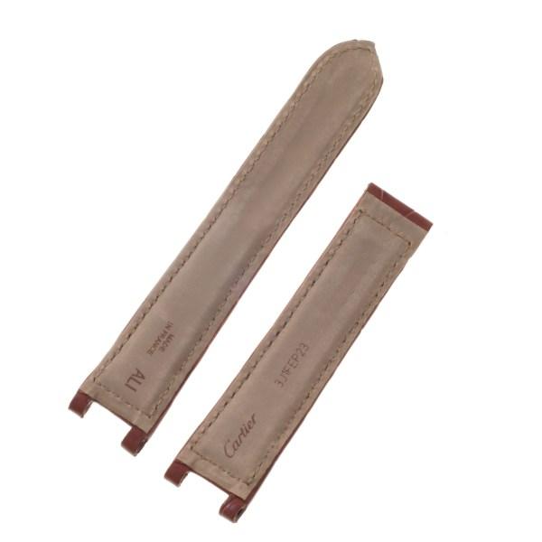 Cartier Pasha brown alligator strap (19.5mm x 18mm)