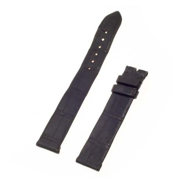 Chopard Black Alligator leather Strap (18x16)