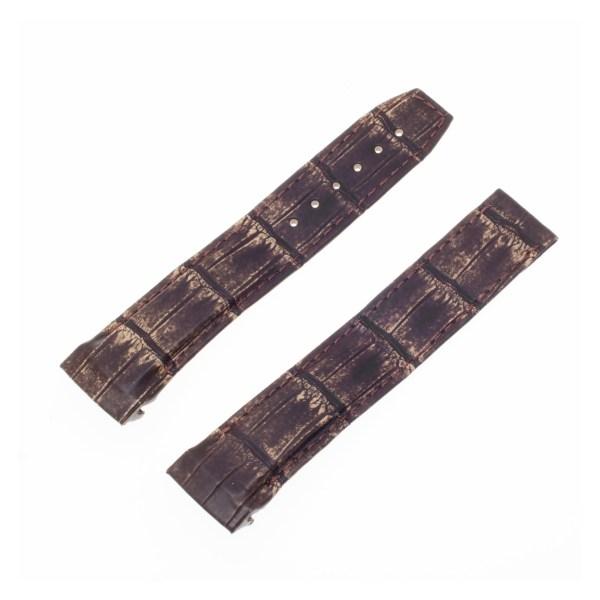 Omega brown alligator strap (20x18)