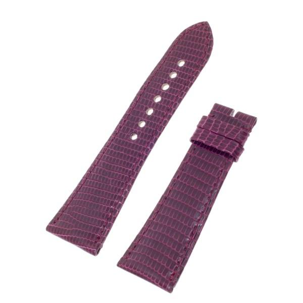 Cartier purple lizard strap (24mm x 19mm)