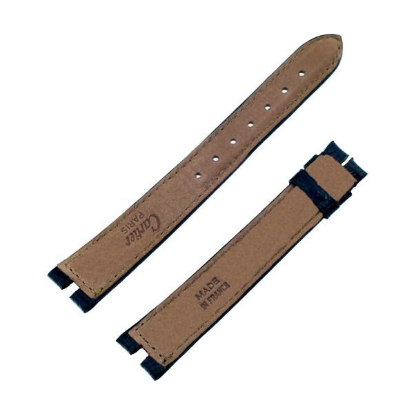 Cartier black lizard strap (16mm x 14mm)