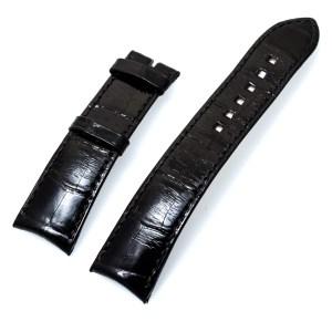 Harry Winston black alligator strap (21x18)