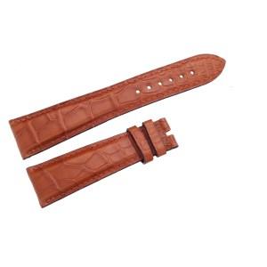 Bvlgari alligator light brown strap (21 x 16)