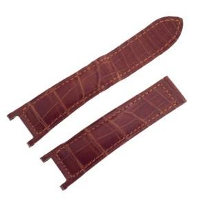 Cartier dark brown alligator strap for Cartier Pasha 21mm x 18mm