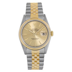 Rolex Datejust 16233 18k and Stainless Steel 36mm Automatic watch