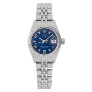 Rolex Date 79174 stainless steel 25mm auto watch