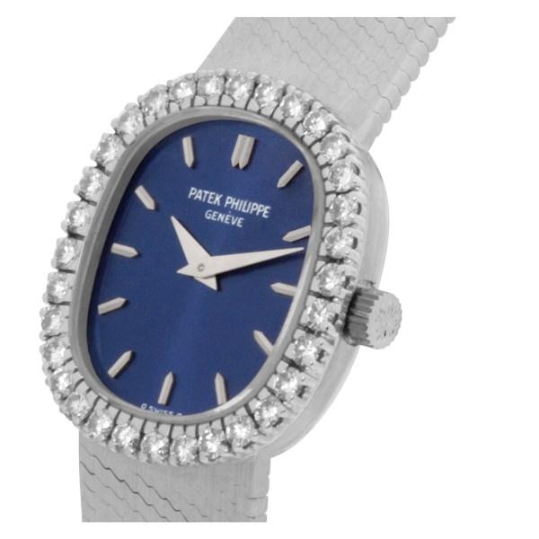 Patek Philippe Ellipse 4134/4 18k white gold 21mm Manual watch