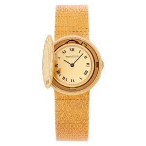 Jaeger LeCoultre Vintage 4460 18k 29.5mm Manual watch