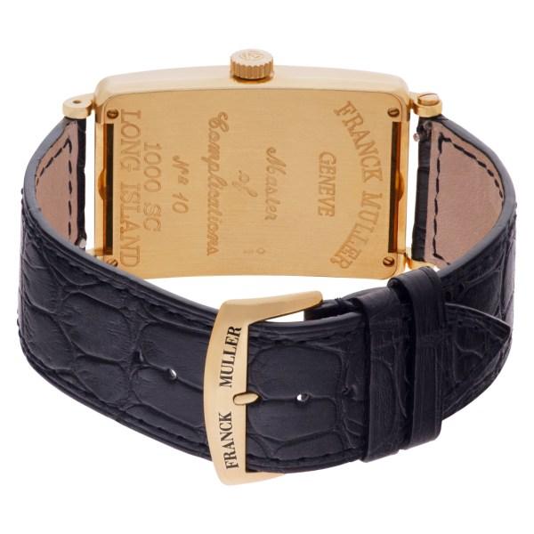 Franck Muller Long Island 1000 SC 18k rose gold 43mm auto watch