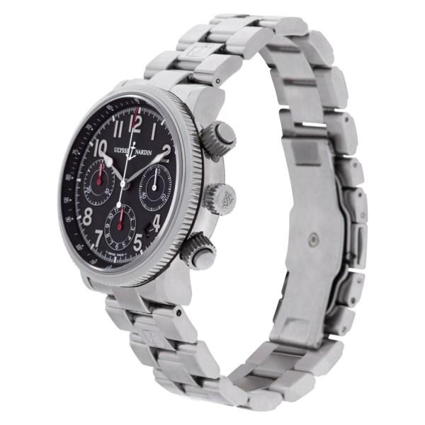 Ulysse Nardin Marin Chro 353-22 stainless steel 37mm auto watch