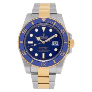 Rolex Submariner 116613    18k & Stainless Steel Blue dial 40mm Automatic watch