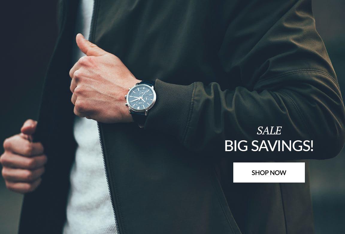 Big Saving Shop Now Watch and Jewelry