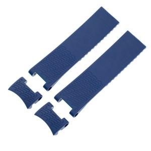Ulysses Nardin Maxi Marine Diver Blue Rubber Strap (22mm x 20mm)