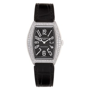 Patek Philippe Gondolo 4987 18k white gold 28mm Quartz watch