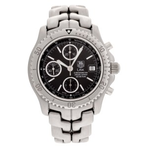 Tag Heuer Link ct5111 stainless steel 42mm auto watch